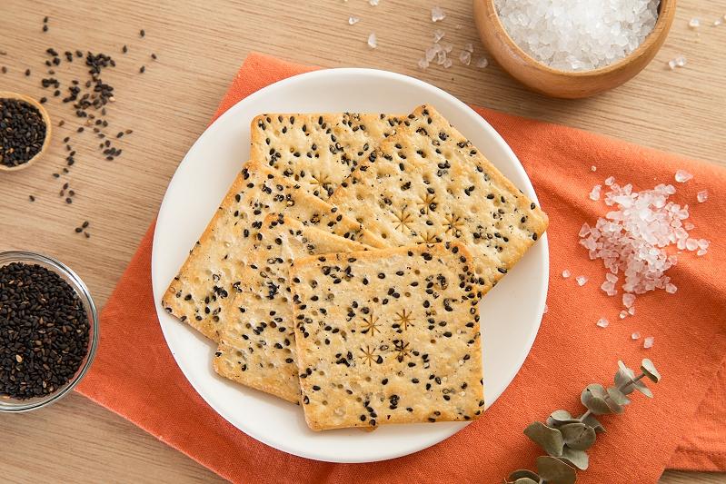 海鹽芝麻餅
